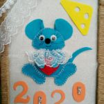 108 Батомункуева Бальжит- Панно Веселая мышка