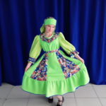 17 Цырельникова Кристина Андреевна русский народный костюм