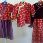 98 театр мод «Энгэр хээ»Борхондоева Цыцыгма Тугдумовна бурятский стилизованный костюм